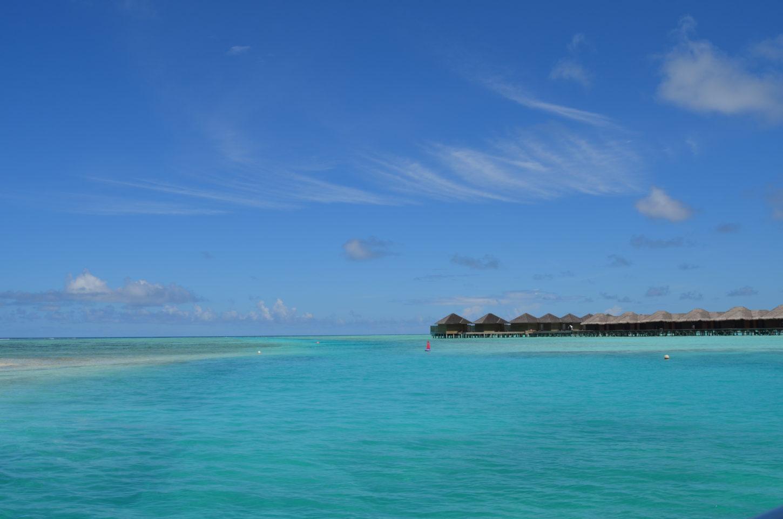Magical landscapes at the Maldives