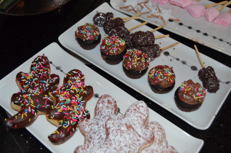 Tasty treats for kids at the Fushi Cafe breakfast