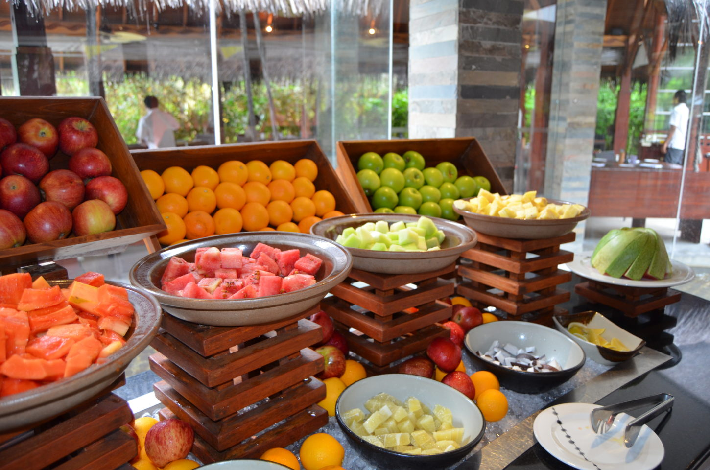 Another level of freshness at the Fushi Cafe fruit stand