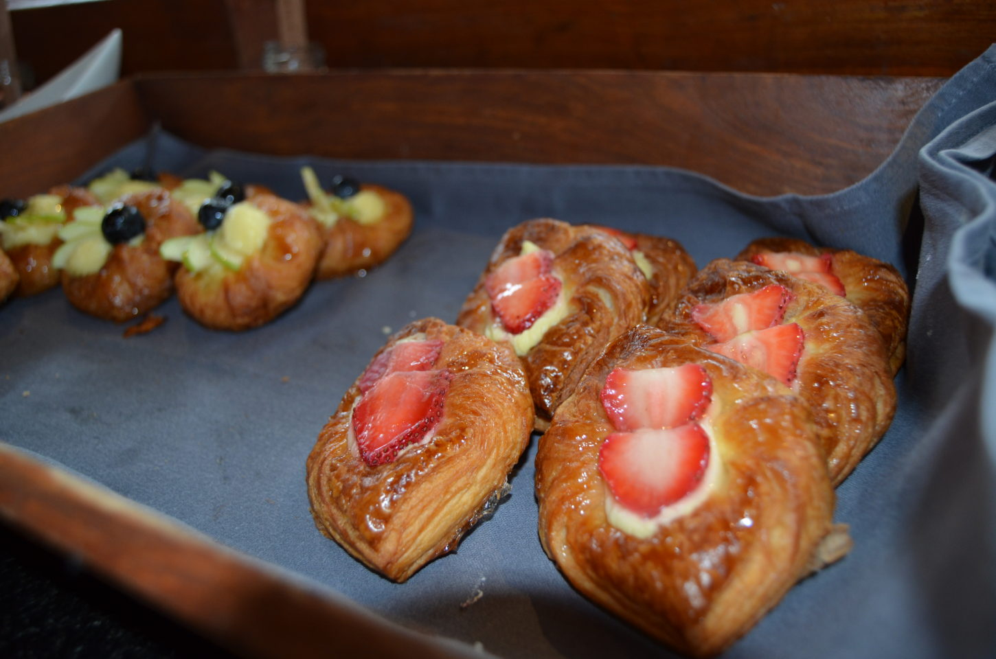 Pastries galore at Fushi Cafe breakfast