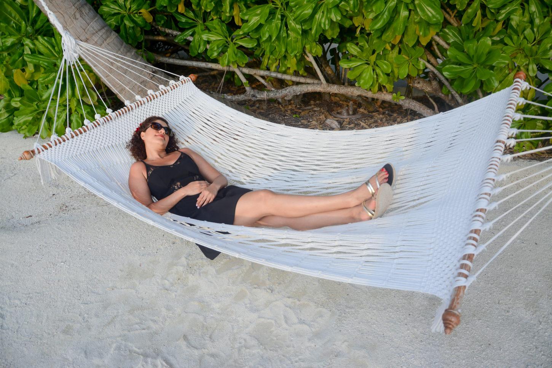 Saudi Diva being lazy on a hammock :)