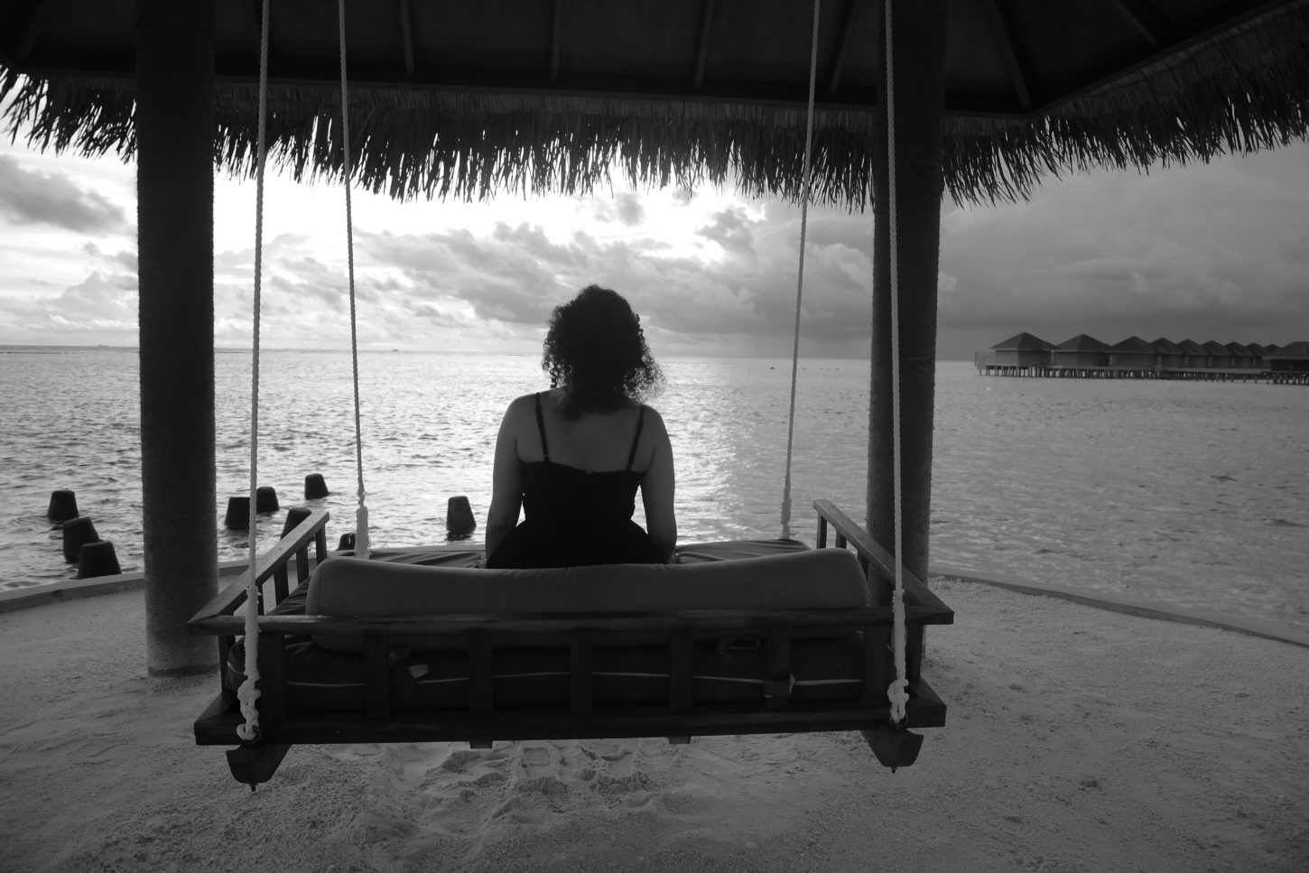 Time stands still in the Maldives