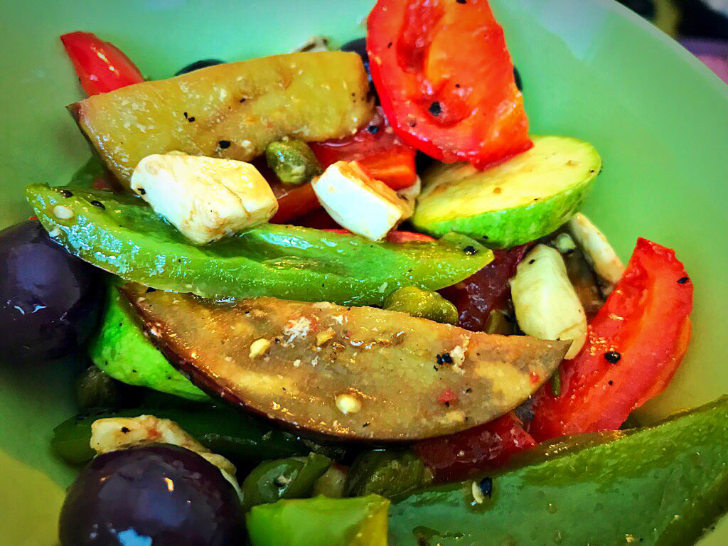 lifestyle redesign  - 685f45 9e39ee9325664807b4a4556e25025d4amv2 1 - Vegetable Salad: Chargrilled with Balsamic Dressing