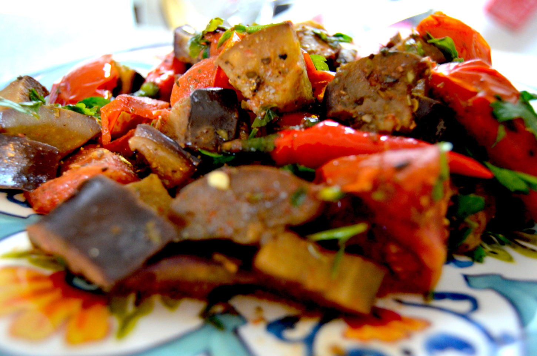 lifestyle redesign  - 685f45 b82081448bda4bfb8bd897fb4ac99670mv2 d 4928 3264 s 4 2 - Eggplant Salad Tunisian Healthy Recipe with Lemon