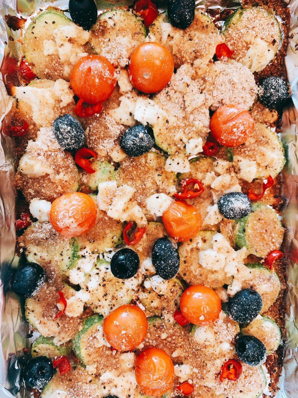 lifestyle redesign  - IMG 8676 960x1280 - Self-Isolation Recipe Sunday: Roasted Zucchini with Feta and Olives